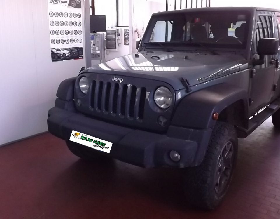 Rimappatura centralina off road Jeep